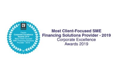 "Factris wins ""Most Client-Focused SME Financing Solutions Provider 2019"" award"
