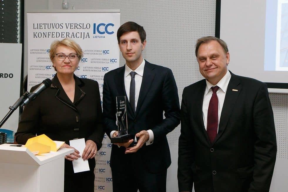 Justas Šaltinis Lietuvos verslo konfederacija