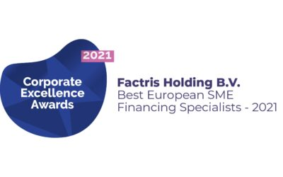 "Factris wins ""Best European SME Financing specialists 2021"" award"