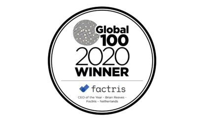 Global 100 Awards CEO of the year 2020 – Brian Reaves