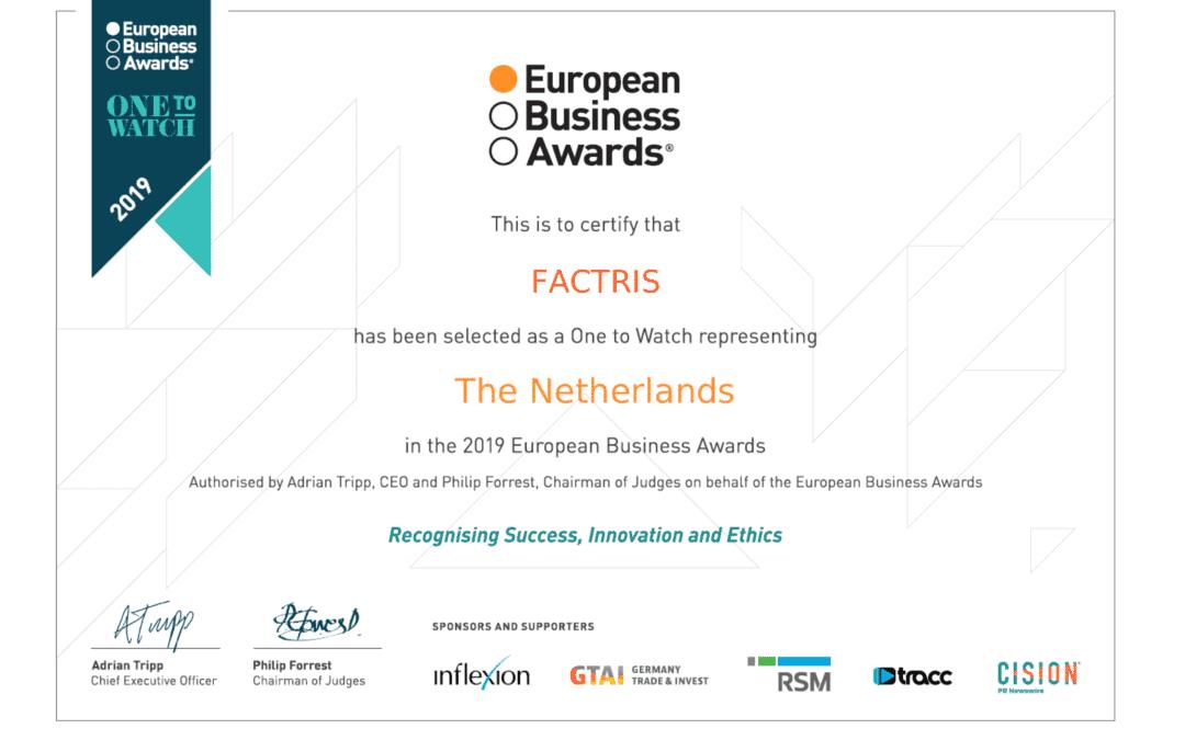 european business awards watchlist factris