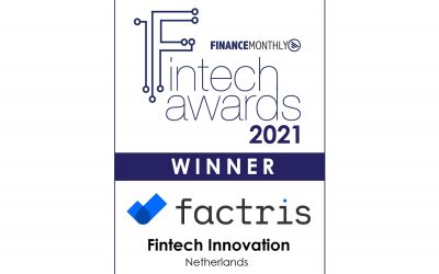 Finance Monthly has chosen Factris in the Fintech Innovation category